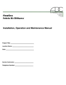 thumbnail of ADC Installation, Operation and Maintenance Manual