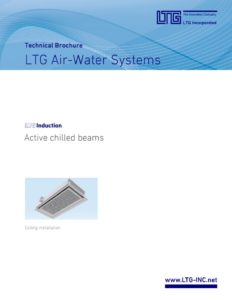 thumbnail of LTG Active Chilled Beams Catalog