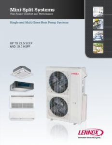thumbnail of Lennox VRF – Mini-Split-Brochure