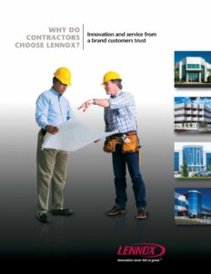 thumbnail of Lennox – Why Contractor Buy_brochure