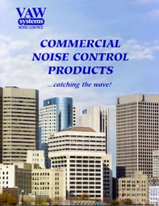 thumbnail of VAW Commercial Noise Control Brochure