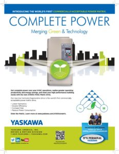 thumbnail of Yaskawa Matrix VFD Complete Power
