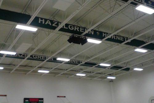 Custom ADC Fabric Duct at Hazelgreen School