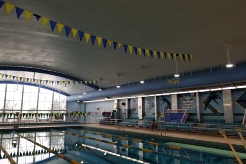 Custom ADC Fabric Duct at Main West HS