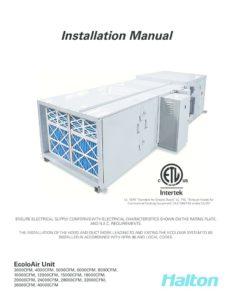 thumbnail of Halton EcoloAir Installation Manual_EAIM_11-2010