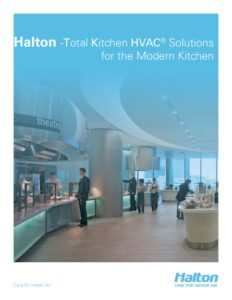 thumbnail of Halton Total Kitchen HVAC Solutions Brochure