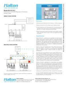 thumbnail of Halton_MARVEL Spec Sheet