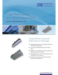 thumbnail of LTG – HDF Active Chilled Beam Brochure