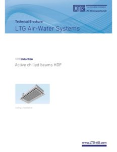 thumbnail of LTG – HDF Active Chilled Beam Technical Brochure