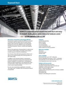 thumbnail of SEMCO – exposed duct