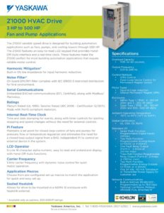 thumbnail of Yaskawa FL.Z1000.01 Flyer