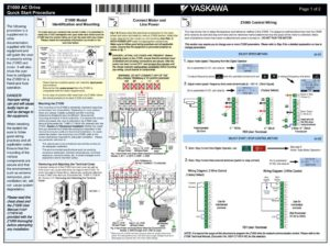 thumbnail of Yaskawa Quick Start Procedure TM.Z1000.01