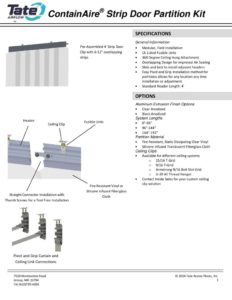thumbnail of tate-containaire-strip-doordata-sheet r1